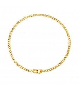 goudkleurige simpele chain ketting